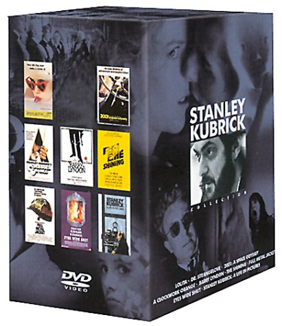 stanley kubrick coffret 8 dvd. Black Bedroom Furniture Sets. Home Design Ideas