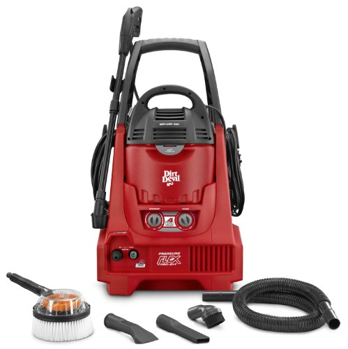Dirt Devil Pressure Flex Pro 2-In-1 Pressure Washer, Nd40100 (Discontinued By Manufacturer)