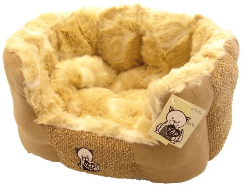 Happy Pet Delicato Oval Cat Bed 18