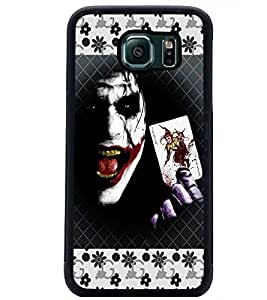 PrintDhaba Joker D-5692 Back Case Cover for SAMSUNG GALAXY S6 (Multi-Coloured)