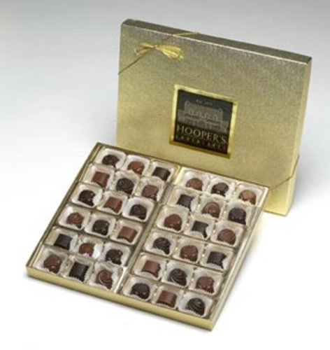 Hooper's Deluxe Assortment Chocolate Truffles (32 Oz - 2 Lbs) (Gourmet,Hoopers Chocolates,Gourmet Food,Candy,Holiday Candy,Valentine's Day)