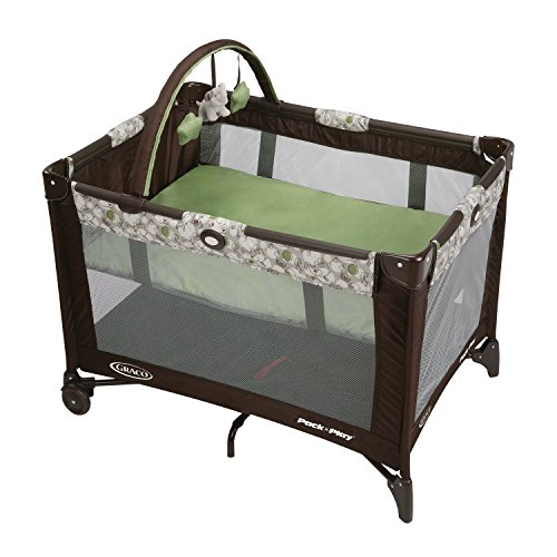 Graco Pack N Play Playard with Automatic Folding Feet, Zuba (Graco Portable Playard compare prices)