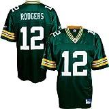 Aaron Rodgers Jersey: Reebok Green Replica #12 Green Bay Packers Jersey