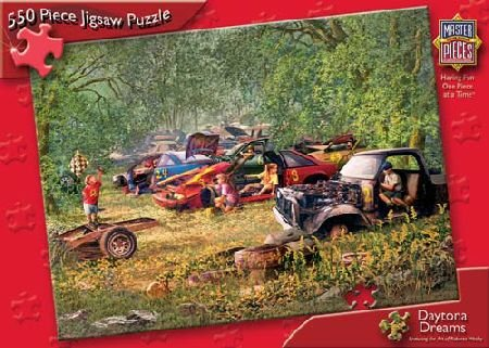 Daytona Dreams 550pc Puzzle