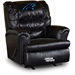 Buy NFL Carolina Panthers Big Daddy Leather Recliner by Imperial