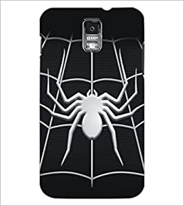 PrintDhaba Spider D-5161 Back Case Cover for SAMSUNG GALAXY S5 (Multi-Coloured)