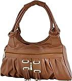 Savera Girls' PU Handbag (Brown)