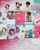 Disney Multi -Character Pack 10 Girls Panties 100% Cotton! 6