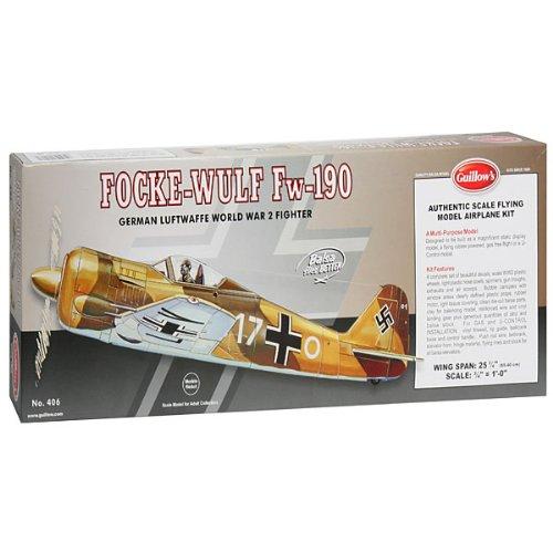 GUILLOW's Focke-Wulf 406 Powered Balsa Flying Model Kit
