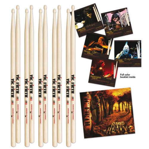 PACK DE 4 AMERICAN CLASSIC HICKORY 5B + DOUBLE CD OFFERT