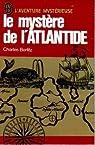 le mystere de l'atlantide par Berlitz