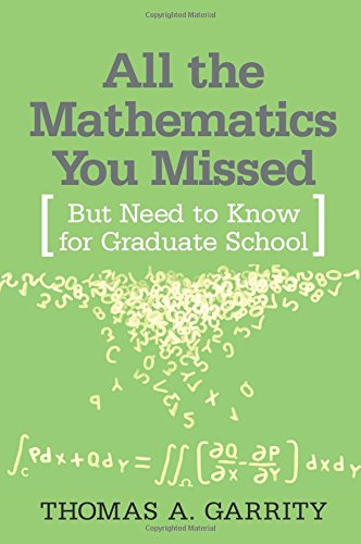 All the Mathematics You Missed: But Need to Know for Graduate School