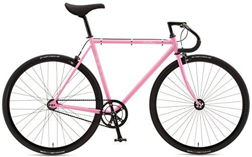 FUJI(フジ) FEATHER シングルスピードバイク 2016年モデル サイズ:52 [SINGLE SPEED、クロモリフレーム、700C] ピンク 16FETRPK52