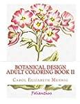 Botanical Design Adult Coloring Book #2