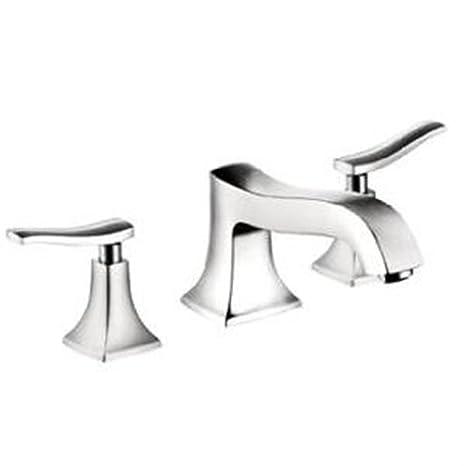 Hansgrohe 31073821 Metris C Widespread Faucet, Brushed Nickel