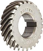 Boston Gear GB27 Plain Change Gear 16 Pitch 0.750 Bore Steel 0.750 Bore 27 Teeth 14.5 Degree Pressure Angle