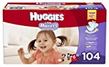 Huggies Little Movers Diapers, Size 6, 104 Count