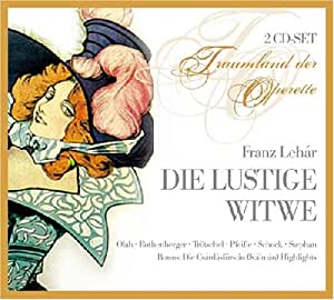 Franz Lehar: Die lustige Witwe (Operette) (Gesamtaufnahme) (2 CD)