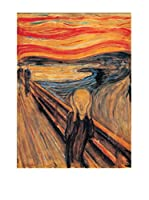 Artopweb Panel Decorativo Munch The Scream 66x49 cm Multicolor