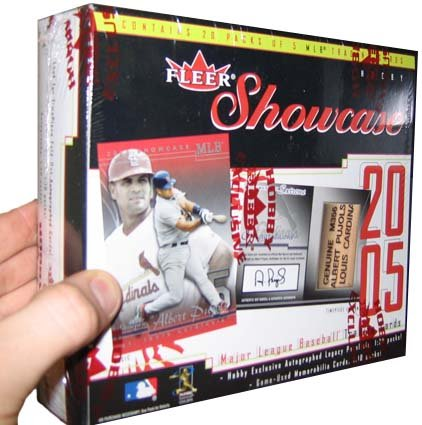 2005 Fleer Showcase Baseball HOBBY Box – 20P5C