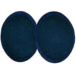 Cotton Denim Ear Mitts Bandless Ear Muffs with ThinsulateTM Insulation