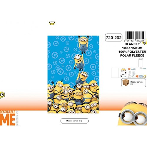 Minions - Coperta Plaid in Pile Tower