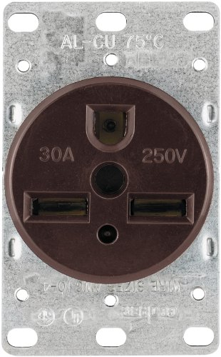 Cooper Wiring Devices 1234-BOX 30-Amp 2-Pole,
