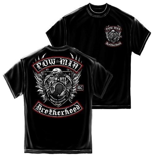 POW MIA Brotherhood Adult T-Shirt Tee