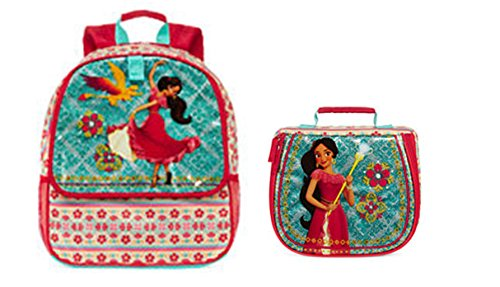 Disney Collection Elena of Avalor Backpack & Lunch Bag Set