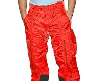 Buy Ralph Lauren RLX Mens Cargo Snowboard Ski Pant Orange Military Green Small by RALPH LAUREN