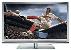 Grundig Bundesliga TV 46 VLE 8270 SL 117 cm (46 Zoll) 3D LED-Backlight-Fernseher (Full-HD, 400 Hz PPR, DVB-T/C/S2, Smart Interactive TV) silber