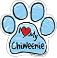 Imagine This Scribble Paw Magnet, Chiweenie