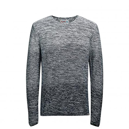 JACK & JONES Jorswing Knit Crew Neck Camp, Felpa Uomo, Bianco (Cloud Dancer), Medium