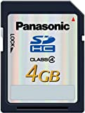 Panasonic SDHCメモリーカード 4GB RP-SDM04GL1K
