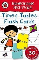 Ladybird Homework Helpers: Times Tables flash cards