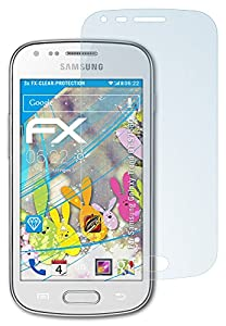 3 x atFoliX Samsung Galaxy Trend (GT-S7560) Pellicola Protettiva - FX-Clear ultra trasparente
