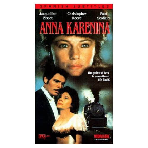 Anna Karenina [VHS] Jacqueline Bisset, Christopher Reeve