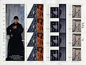 Louise Nevelson pane 20 x 33 cent U.S. Postage Stamps 1