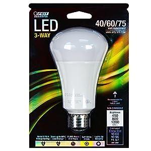 Feit A40/75/LED 40/60/75W Equivalent A19 LED Light, Soft White