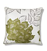 Floral Embroidered Cushion [T47-8174-S]
