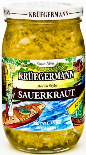 Sauerkraut 16 fl oz (Kruegermann Sauerkraut compare prices)