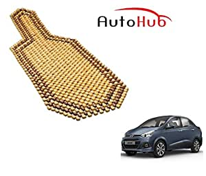 Auto Hub Premium Quality Car Wooden Beads Seat Cover For