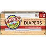 Earth's Best Chlorine-Free Diapers, Size 2, 160 Count