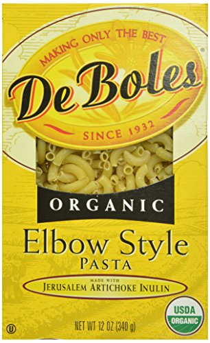 DeBoles Organic Elbow Pasta, 12 Ounce (Pack of 12) (Jerusalem Artichoke Pasta compare prices)