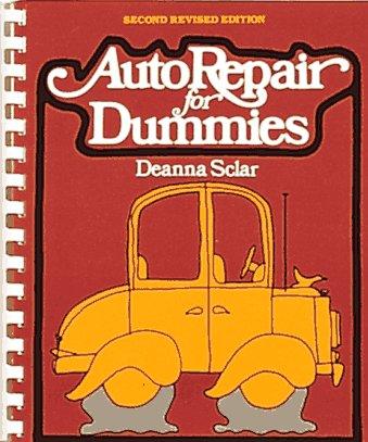 Auto Repair for Dummies/Spiral, Deanna Sclar