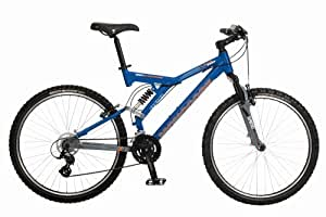 Mongoose Pro Wing Comp Dual Suspension Mountain Bike (18-Inch Frame)