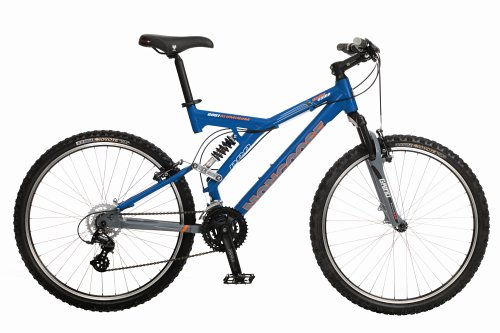 Mongoose Pro Wing Comp Dual Suspension Mountain Bike (16-Inch Frame)