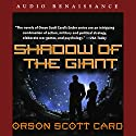 Shadow of the Giant Audiobook by Orson Scott Card Narrated by David Birney, Scott Brick, Full Cast