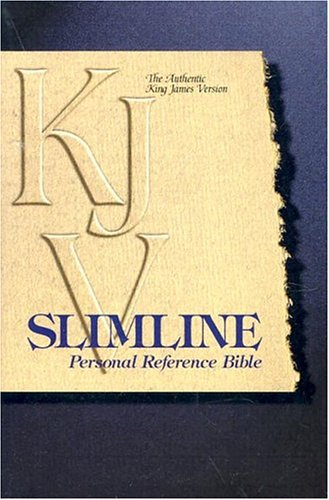 Slimline Reference Bible: King James