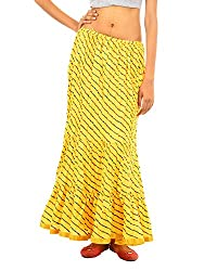 Fashiana Women Cotton Long Stylish Skirt